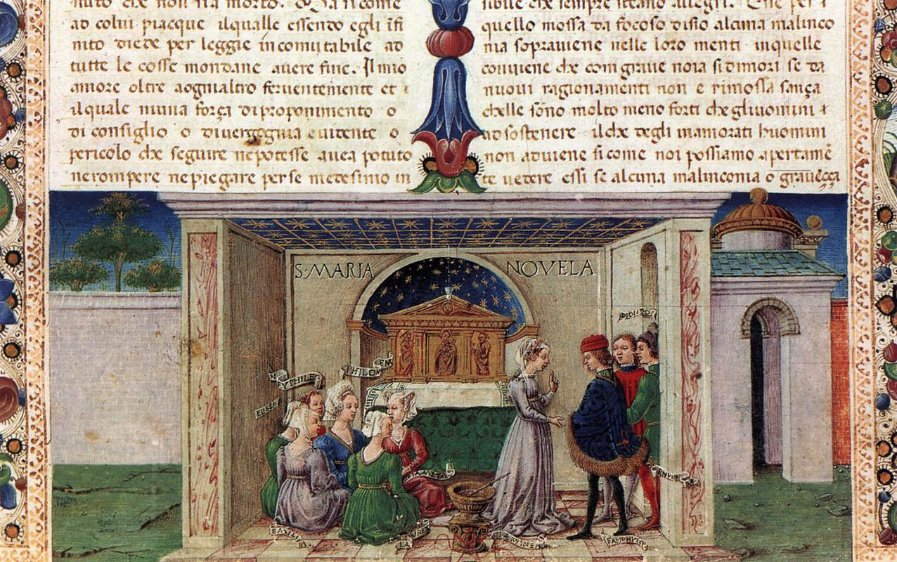 decameron 14th century and master simone Il decamerone = the decameron, giovanni boccacccio the decameron is a collection of novellas by the 14th-century italian author giovanni boccaccio (1313–1375.