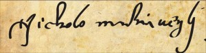Machiavelli signature