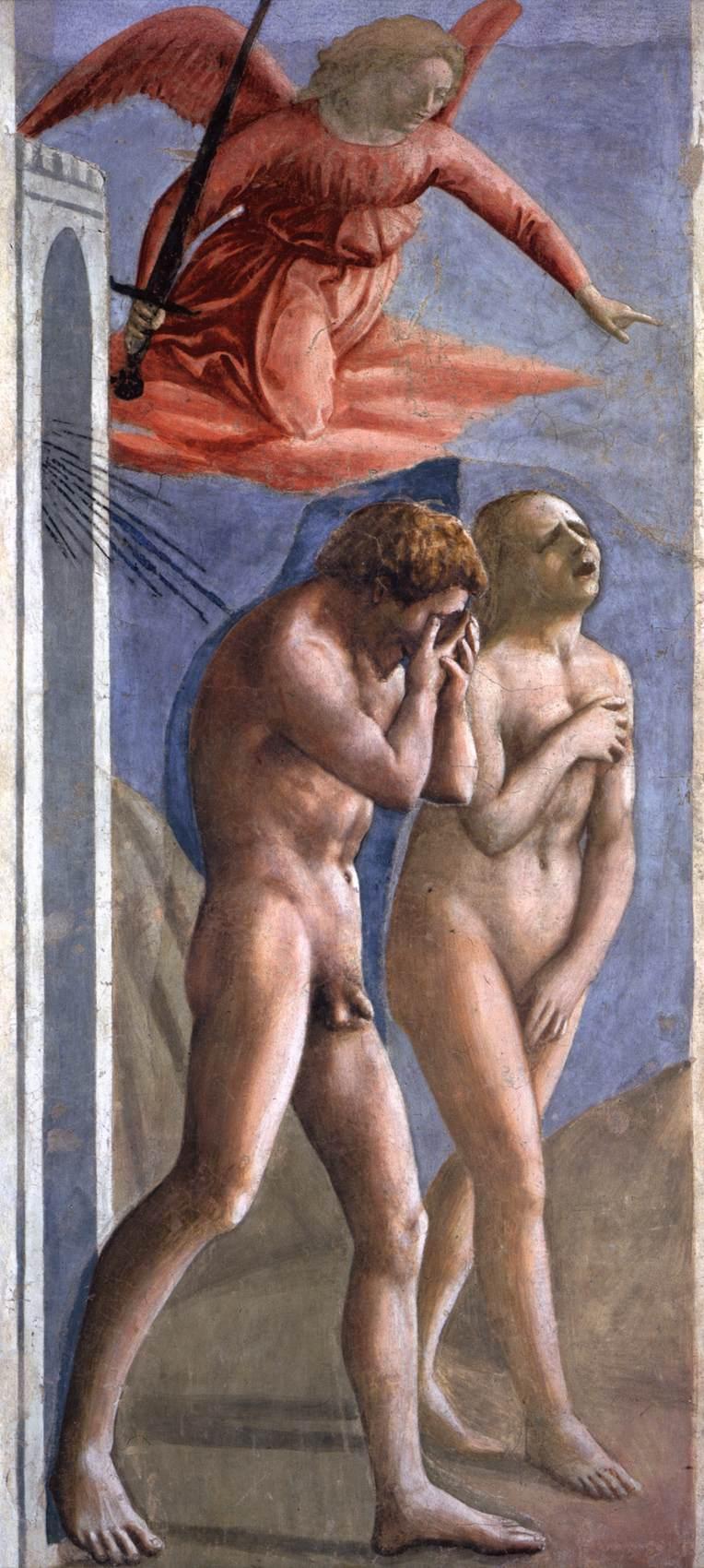 Masaccio adam eve