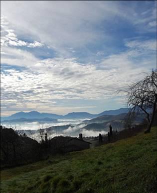 Urbino mountains