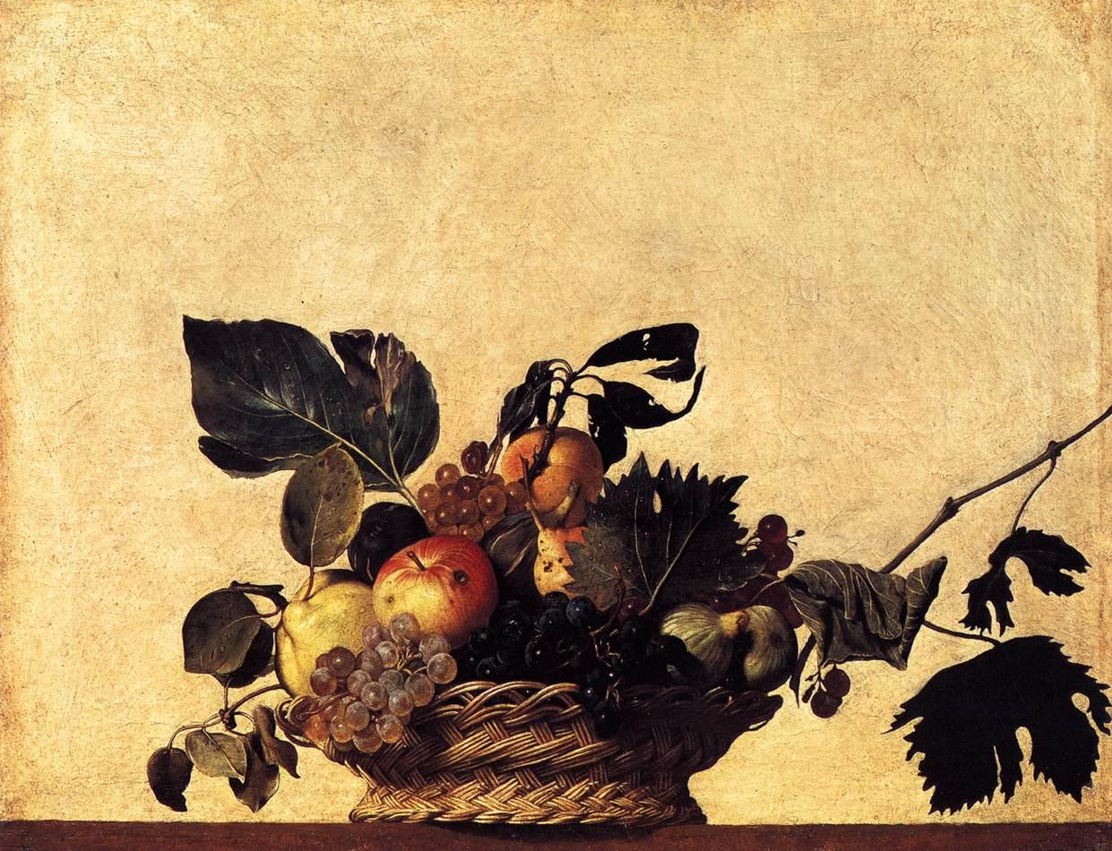 caravaggio fruit