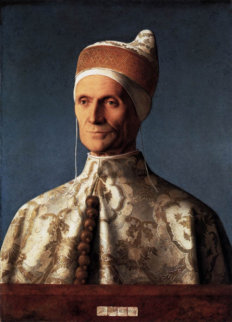 Bellini doge loredanportr