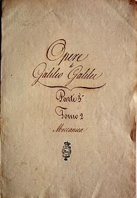 Galileo opera omnia