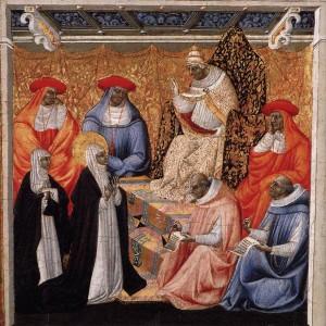 St Catherine at Avignon PdiGiovanni