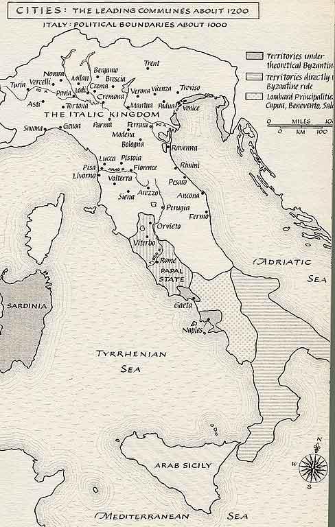 Italian Communes c1200